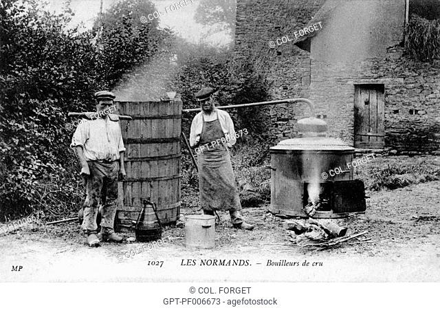 GROWER-DISTILLERS IN NORMANDY
