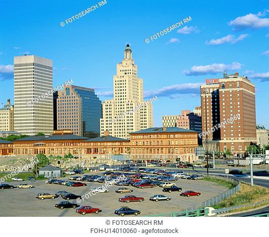 Providence, Rhode Island Skyline, State Capitol