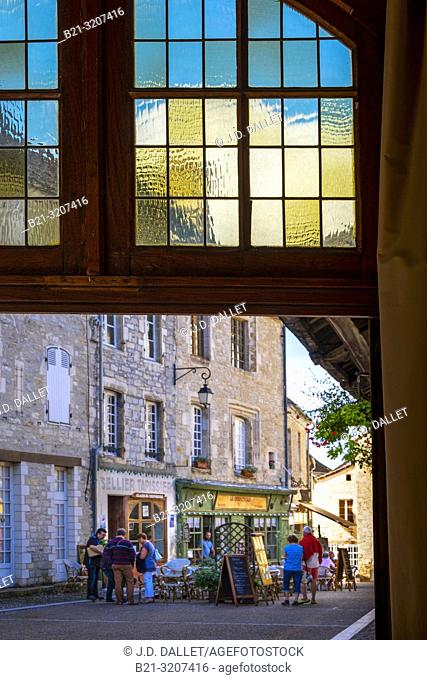 France, Occitanie, Lot, at the medieval town of Martel