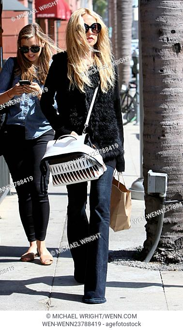 Rachel Zoe takes her son Skyler to Go Greek Yoghurt in Beverly Hills Featuring: Rachel Zoe Where: Los Angeles, California