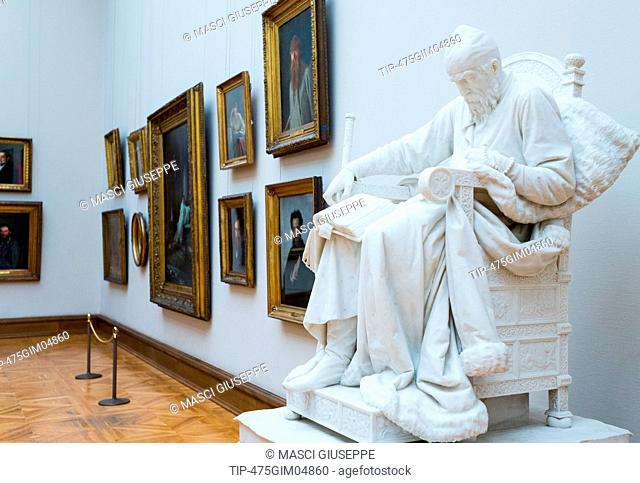 Russia, Moscow, masterpieces od Russian art in the Tretjakov Gallery