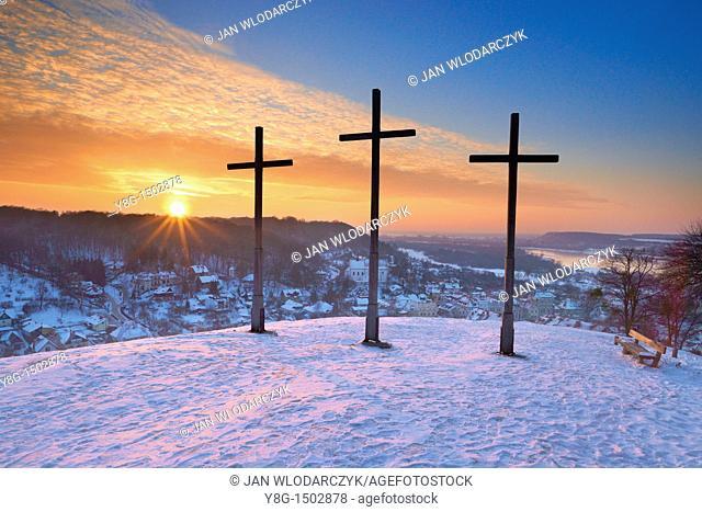 The Hill Of Three Crosses, Kazimierz Dolny, Poland, Europe