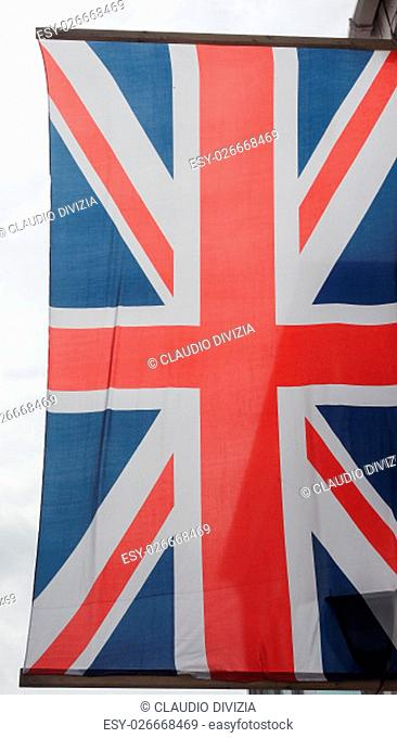 National flag of the United Kingdom aka Union Jack
