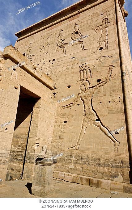 Egypt Aswan Philae Temple