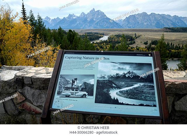 North America, American, USA, Rocky Mountains, West, Grand Teton National Park