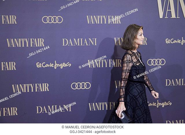 Isabel Preysler attends the Vanity Fair 'Person of the year 2019' at Royal Theatre on November 25, 2019 in Madrid, Spain