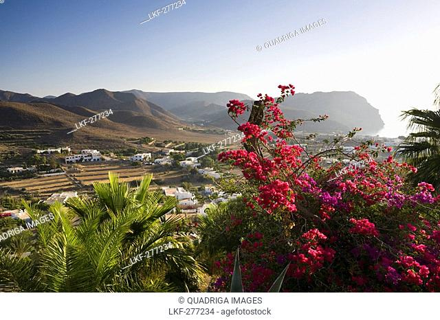 Village along the coast, Las Negras, Province Almeria, Andalucia, Spain