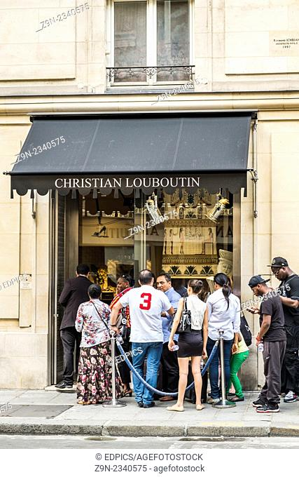 boutique louboutin saint honore