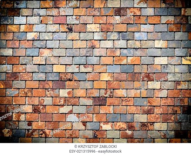 Background of grunge brick wall texture