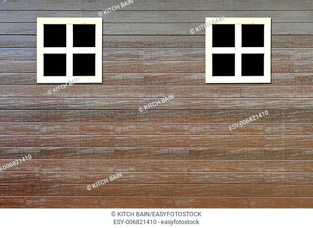 A conceptual image of a window on the side of a building