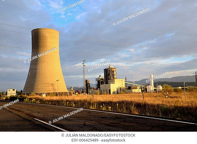Petrochemical complex in Puertollano, Ciudad Real, Spain