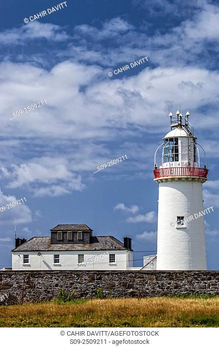 Loop Head Lighthouse owned by the Irish Landmark Trust at Loop Head, Co. Clare, Ireland