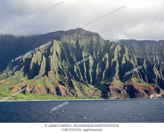 Hawaii, Kauai, Na Pali Coastline