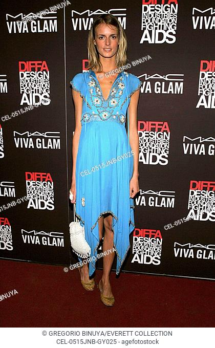 Jacquetta Wheeler at arrivals for MAC Viva Glam Casino DIFFA Benefit, Gotham Hall, New York, NY, June 15, 2005. Photo by: Gregorio Binuya/Everett Collection