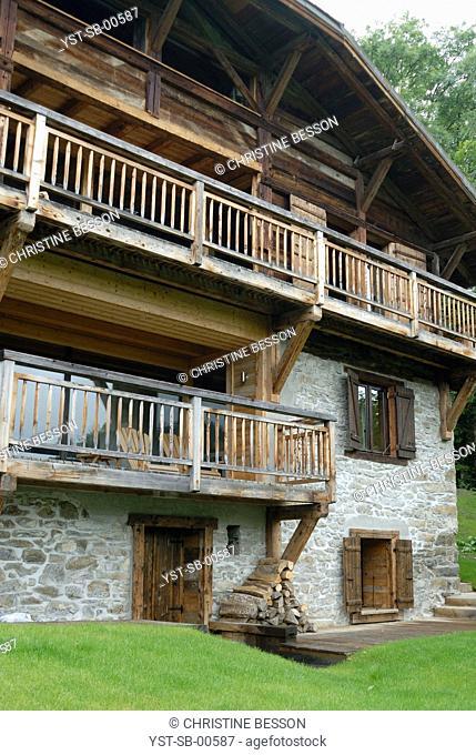 Chalet, Les Gets, Chamonix, Mont-Blanc, Haute-Savoie, France