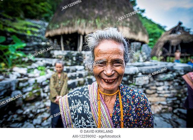 Timorese woman at Liurai Village; Timor-Leste