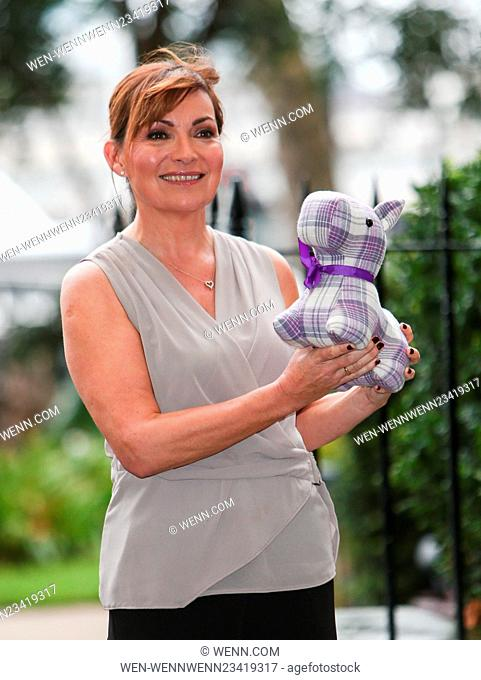 Lorraine Kelly presents her first homeware collection for JD Williams at the Savoy Hotel in central London Featuring: Lorraine Kelly Where: London