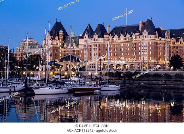 Empress Hotel, Victoria, Vancouver Island, BC Canada