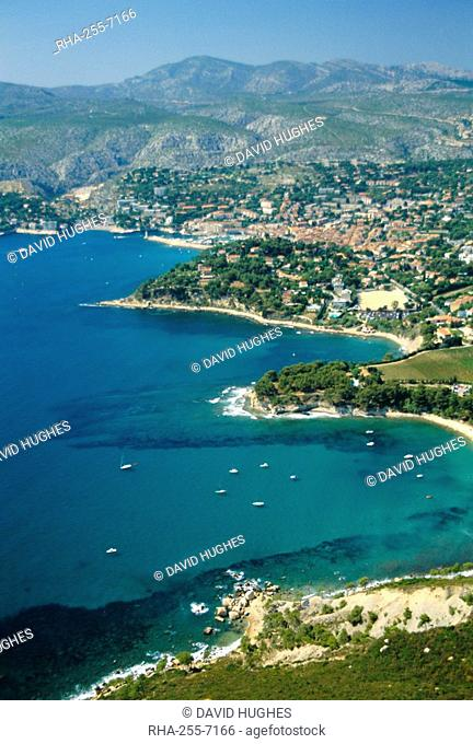 Cassis, Bouches du Rhone, Cotes des Calanques, Mediterranean coast, Provence, France, Europe
