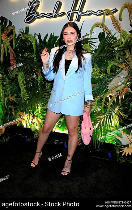 Celebrities attend the grand opening of Kassi Beach House in Las Vega, Nevada Featuring: Hannah Beth Where: Las Vegas, Nevada