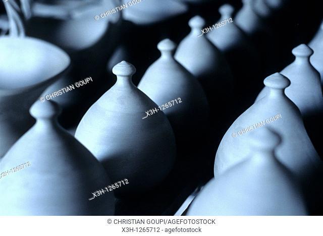 pottery in Saint-Amand-en-Puisaye, Nievre department, region of Burgundy, center of France, Europe
