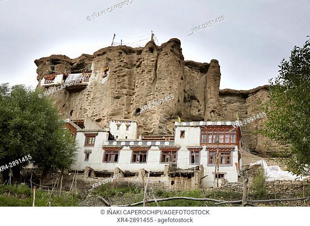 La Gompa de Gyal, Wakha Valley, Gyal, Ladakh, India