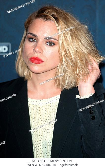 Sky Atlantic's new drama Penny Dreadful screening held at the St Pancras Renaissance Hotel - Arrivals. Featuring: Billie Piper Where: London