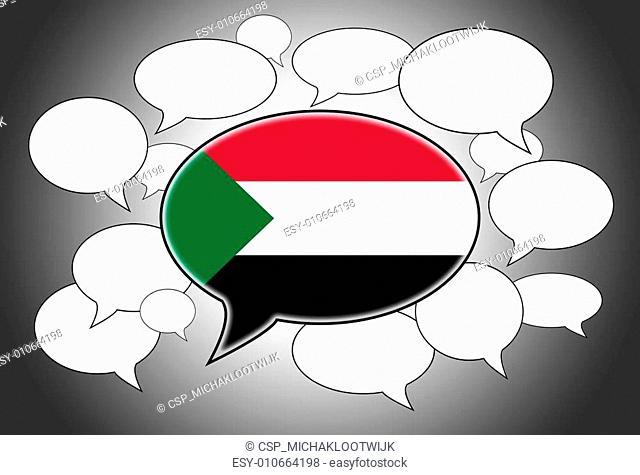 Communication concept - Speech cloud