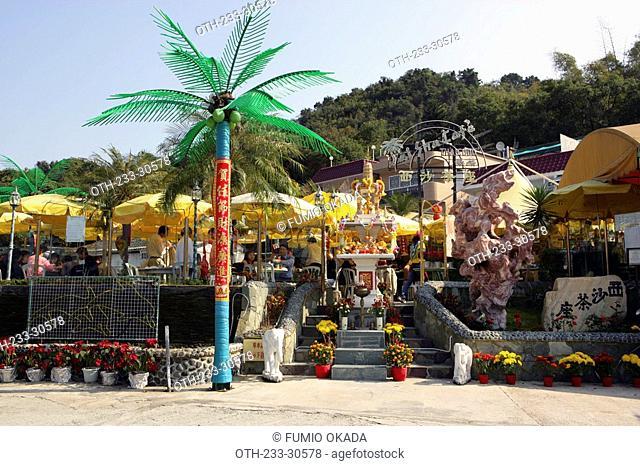 Thai food restaurant at Sai Kung, Hong Kong