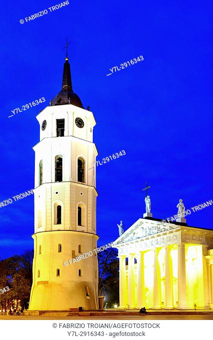 Cathedral Basilica of St Stanislaus and St Ladislaus, Vilnius, Lithuania
