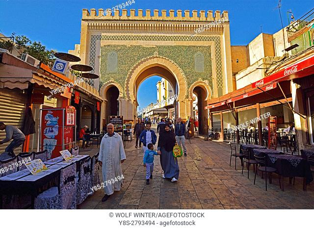 Bab El Mansour, Meknes, Morocco