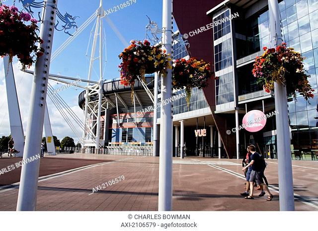 United Kingdom, Wales, Millennium Center; Cardiff