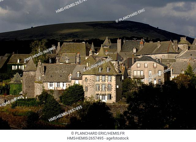 France, Cantal, Salers, labelled Les Plus Beaux Villages de France (one of the most beautiful villages in France)