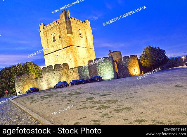 13th Century Castle of Bragança, Bragança, Portugal, Europe