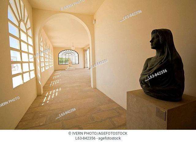 Sculptures Museu Pau Casals Sant Salvador El Vendrell Baix Penedès Tarragona province Spain