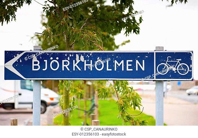 Bjorkholmen in Karlskrona