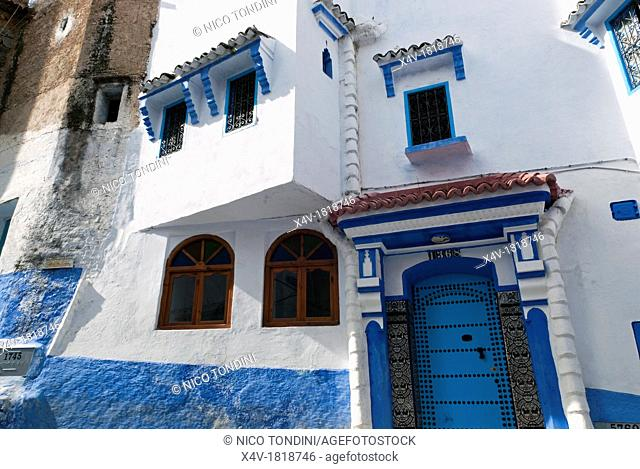 Chefchaouen Chaouen, Tangeri-Tetouan Region, Rif Mountains, Morocco, North Africa, Africa