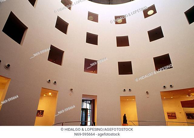 MEIAC, Museo Extremeño e Iberoamericano de Arte Contemporáneo. Badajoz. Extremadura. Spain