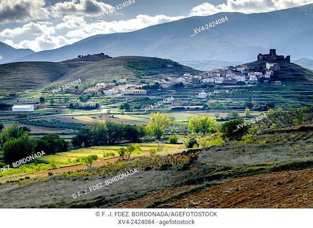 Trasmoz vllage. Hill town. Tarazona and Moncayo region, Ebro Valley, Aragon, Spain
