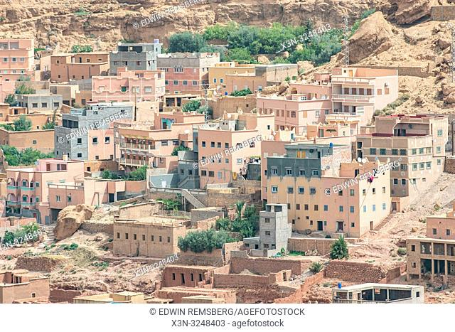 Geometric Residential Architecture, Dades, Morocco