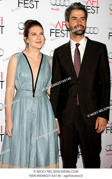 AFI FEST 2015 - 'The Big Short' - Closing Night Gala Premiere Featuring: Lily Rabe, Hamish Linklater Where: Los Angeles, California