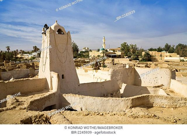 Old town of Ghat, Libya, Sahara, North Africa, Africa