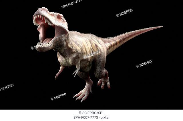 T-Rex, computer artwork