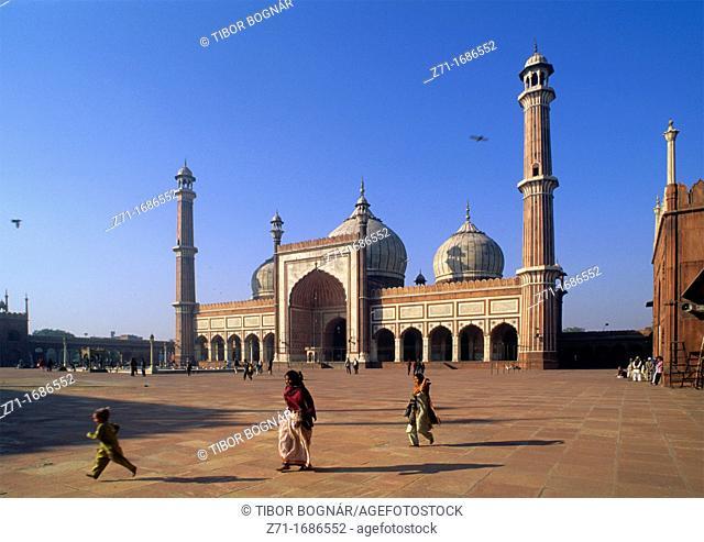 India Delhi Jami Masjid Mosque
