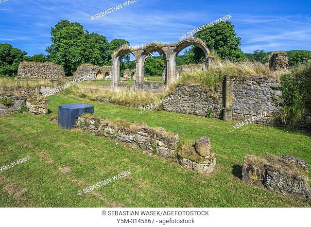 Hailes Abbey, Gloucestershire, England, United Kingdom, Europe