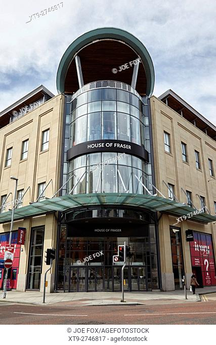 house of fraser in victoria square shopping centre belfast city centre