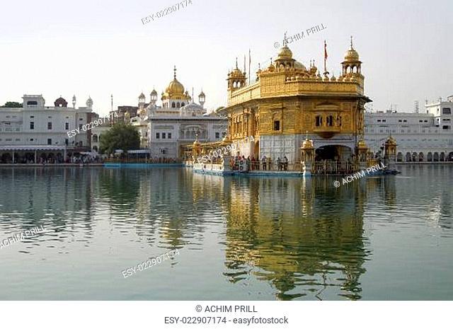 Amritsar with Harmandir Sahib