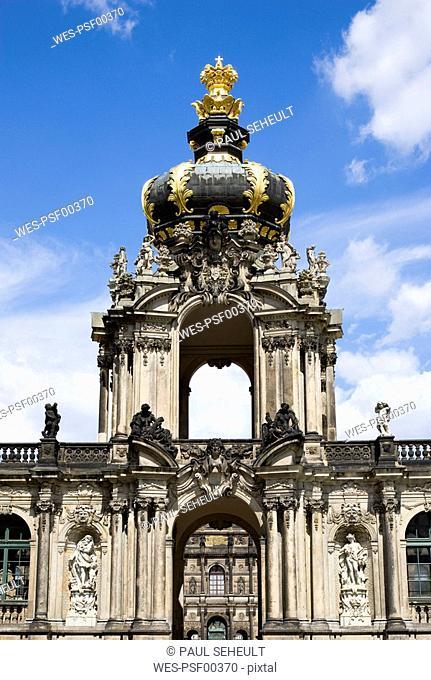 Germany, Saxony, Dresden, Zwinger palace