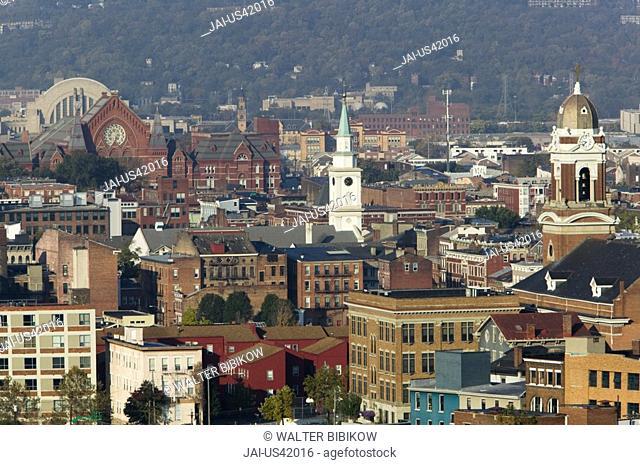 Rhein Neighborhood, Cincinnati, Ohio, USA
