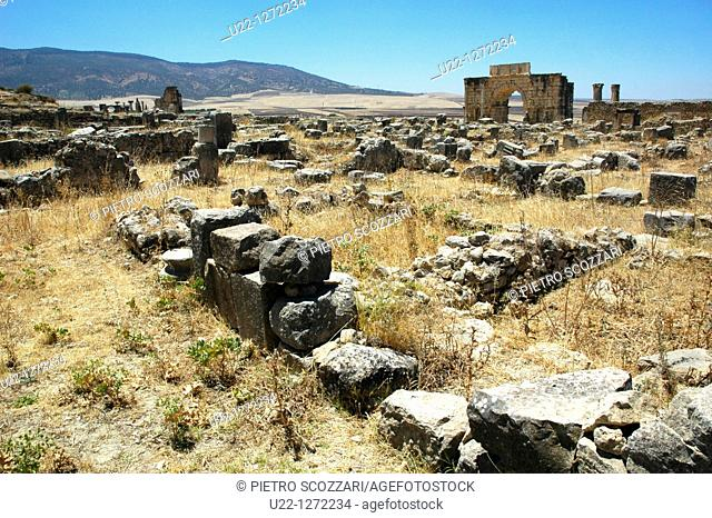 Volubilis (Morocco): the archaeological site